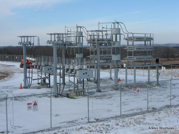 Substation structures for Substation design guide